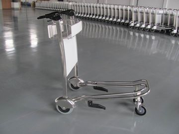As mini três rodas Metal o trole da bagagem do supermercado/aeroporto com freio 300KGS